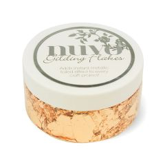 NUVO GILDING FLAKES – SUNKISSED COPPER 852N