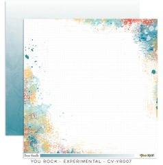 Cocoa Vanilla Studio YOU ROCK EXPERIMENTAL 12 x 12 Cardstock