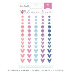 Cocoa Vanilla Studio Bohemian Dream Enamel Shapes
