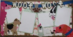 Woof Woof Layout Kit by Mrs. Crafty