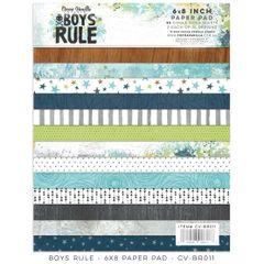 Cocoa Vanilla Studio Boys Rule 6 x 8 Paper Pad