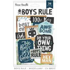 Cocoa Vanilla Studio Boys Rule Miscellany