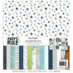 Cocoa Vanilla Studio Boys Rule Collection Kit