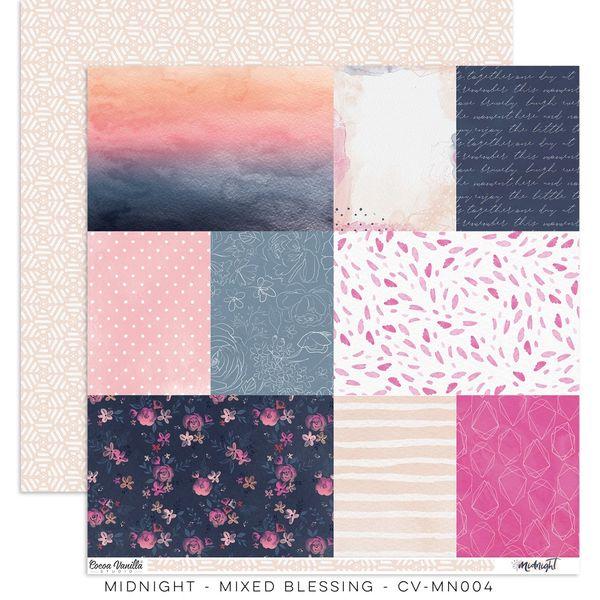 "Cocoa Vanilla Studio Midnight – ""Mixed Blessing"" Paper"