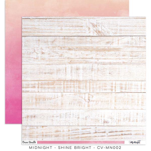"""Cocoa Vanilla Studio Midnight – """"Shine Bright"""" Paper"""