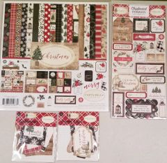 Carta Bella Christmas Happy Scrappy Bag