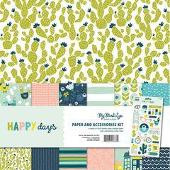My Mind's Eye - Happy Days 12 x 12 Collection Kit