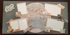 Simple Stories Simple Vintage Traveler Double Page Kit