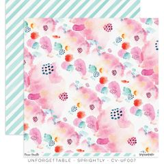 Cocoa Vanilla Studio Unforgettable Sprightly 12 x 12 Cardstock