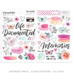Cocoa Vanilla Studio Unforgettable Clear Stickers
