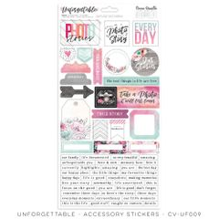 Cocoa Vanilla Studio Unforgettable Accessory Stickers
