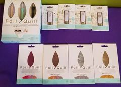 We R Memory Keepers Foil Quill All In One Kit HSB with 4 packs of foil and 4 design drives