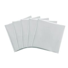 "Foil Quill Foil Pack Silver Swan 12"" x 12"" 15 Pack"