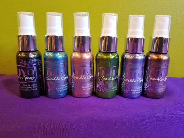 Nuvo Sparkle Spray Lot