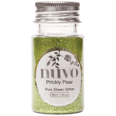 Nuvo - Pure Sheen Glitter - Prickly Pear - 35ml Bottle - 1102n