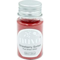 Nuvo - Pure Sheen Glitter - Strawberry Sorbet 35ml - 1116n