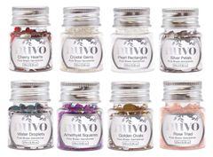 Lot of 8 Nuvo Pure Sheen Gemstones