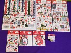 Carta Bella NEW Merry Christmas 7 pc Happy Scrappy Bag