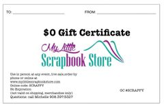 USPS MAIL GIFT CERTIFICATE WITH BONUS GIFT CERTIFICATE YOU CHOOSE AMOUNT