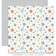 PRE ORDER COCOA VANILLA STUDIO LEGENDARY ALL STAR 12 x 12 Cardstock