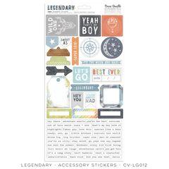 COCOA VANILLA STUDIO LEGENDARY Accessory stickers