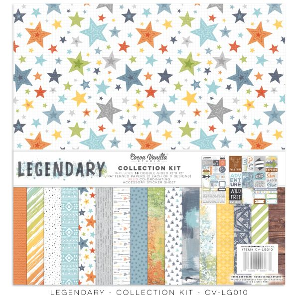 COCOA VANILLA STUDIO LEGENDARY Collection Kit