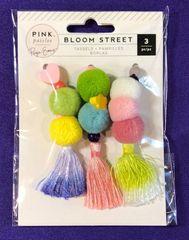 Pink Paislee Bloom street Tassels