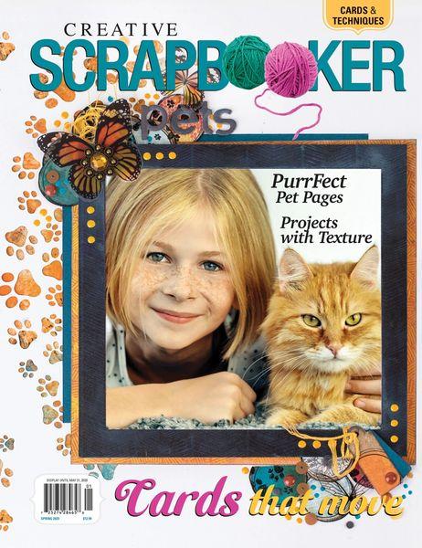 Creative Scrapbooker Magazine Spring 2020