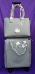 Nuvo Luxury Storage Handbag & Roller Set Balmoral Blue