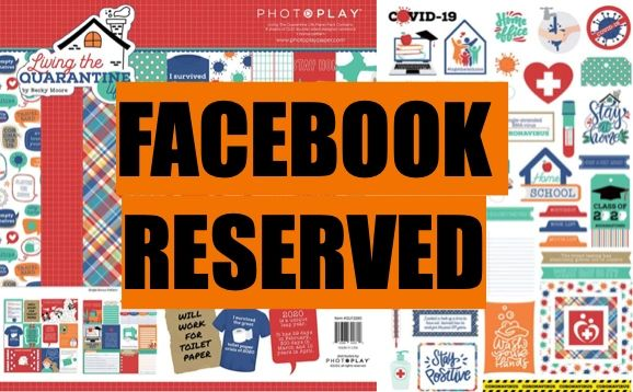 FACEBOOK RESERVED PhotoPlay Living the Quarantine Life Happy Scrappy Bag
