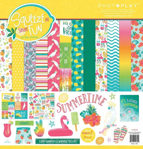 PhotoPlay Squeeze in Some Fun 12 x 12 Collection Kit