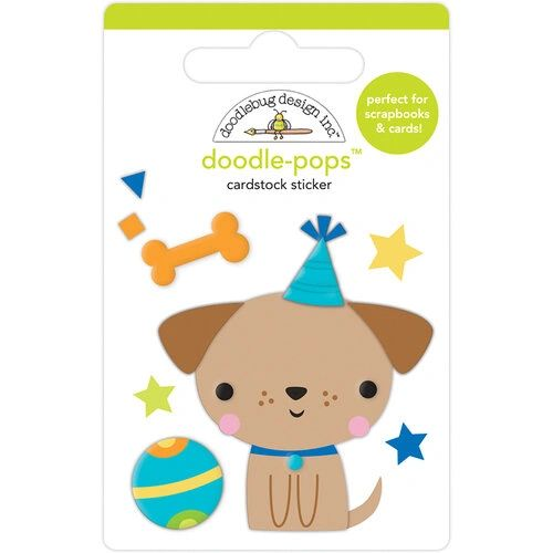 Doodlebug Design Party Time Collection Doodle-Pop Yappy Birthday