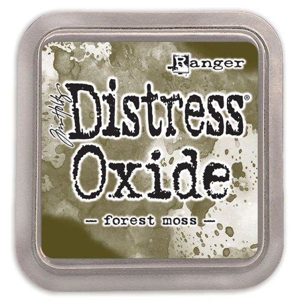 "Tim Holtz Forest Moss Distress Oxide Ink Pad 3"" x 3"""