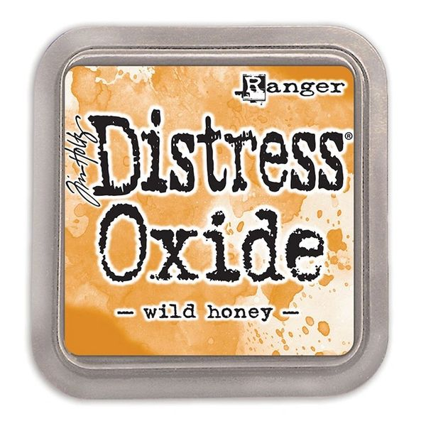 "Tim Holtz Wild Honey Distress Oxide Ink Pad 3"" x 3"""