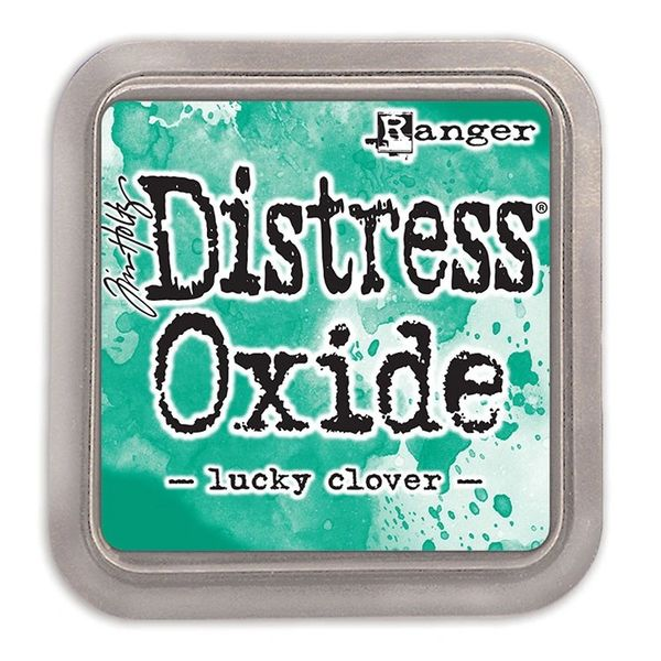 "Tim Holtz Lucky Clover Distress Oxide Ink Pad 3"" x 3"""