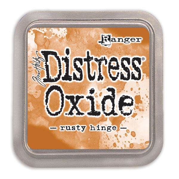 "Tim Holtz Rusty Hinge Distress Oxide Ink Pad 3"" x 3"""