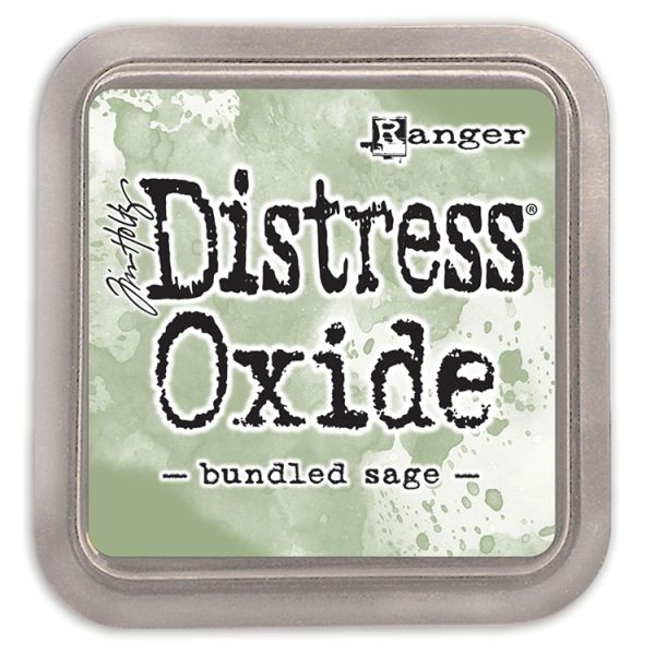"Tim Holtz Bundled Sage Distress Oxide Ink Pad 3"" x 3"""