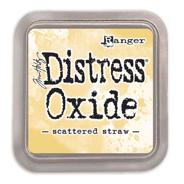 "Tim Holtz Scattered Straw Distress Oxide Ink Pad 3"" x 3"""