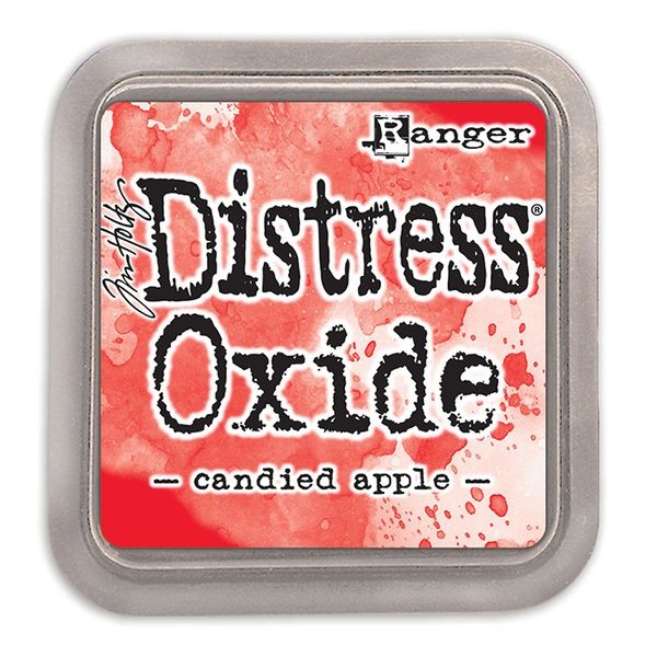 "Tim Holtz Candied Apple Distress Oxide Ink Pad 3"" x 3"""