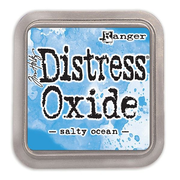 "Tim Holtz Salty Ocean Distress Oxide Ink Pad 3"" x 3"""