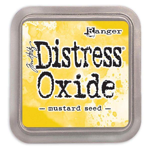 """Tim Holtz Mustard Seed Distress Oxide Ink Pad 3"""" x 3"""""""