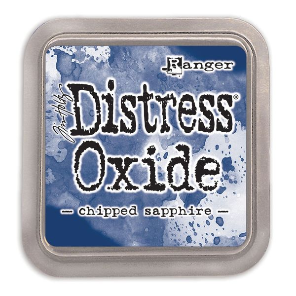 "Tim Holtz Chipped Sapphire Distress Oxide Ink Pad 3"" x 3"""