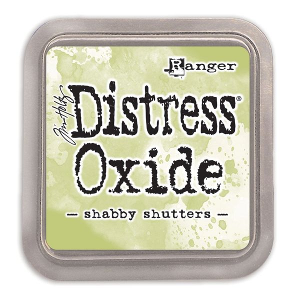 "Tim Holtz Shabby Shutters Distress Oxide Ink Pad 3"" x 3"""