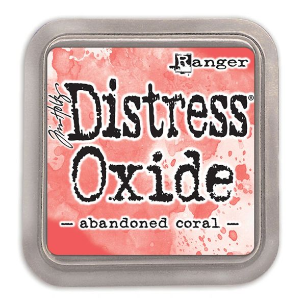 "Tim Holtz Abandoned Coral Distress Oxide Ink Pad 3"" x 3"""