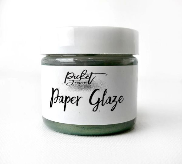Picket Fence Fern Green Paper Glaze