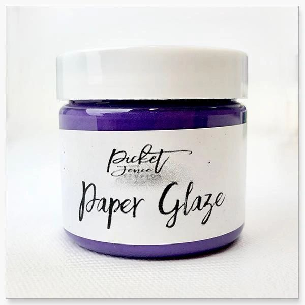 Picket Fence Agapantha Purple Paper Glaze