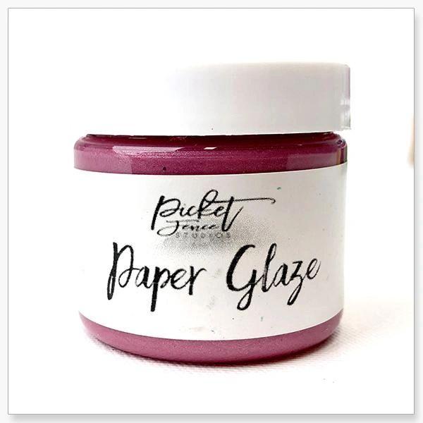 Picket Fence Peony Pink Paper Glaze