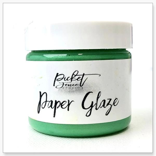 Picket Fence Leaf Green Paper Glaze