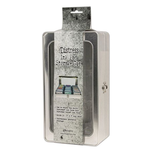 Ranger Ink Tim Holtz Distress Ink Pad Storage Tin