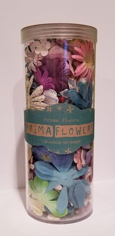 Prima Flowers Wildflowers Pillar Pack Collection Botanical Flower Mix Assorted